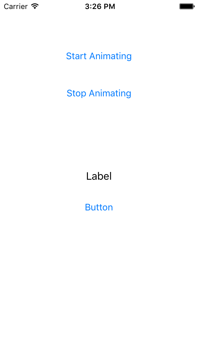 Button Label Spinner screenshot