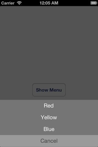 MBButtonMenuViewController screenshot
