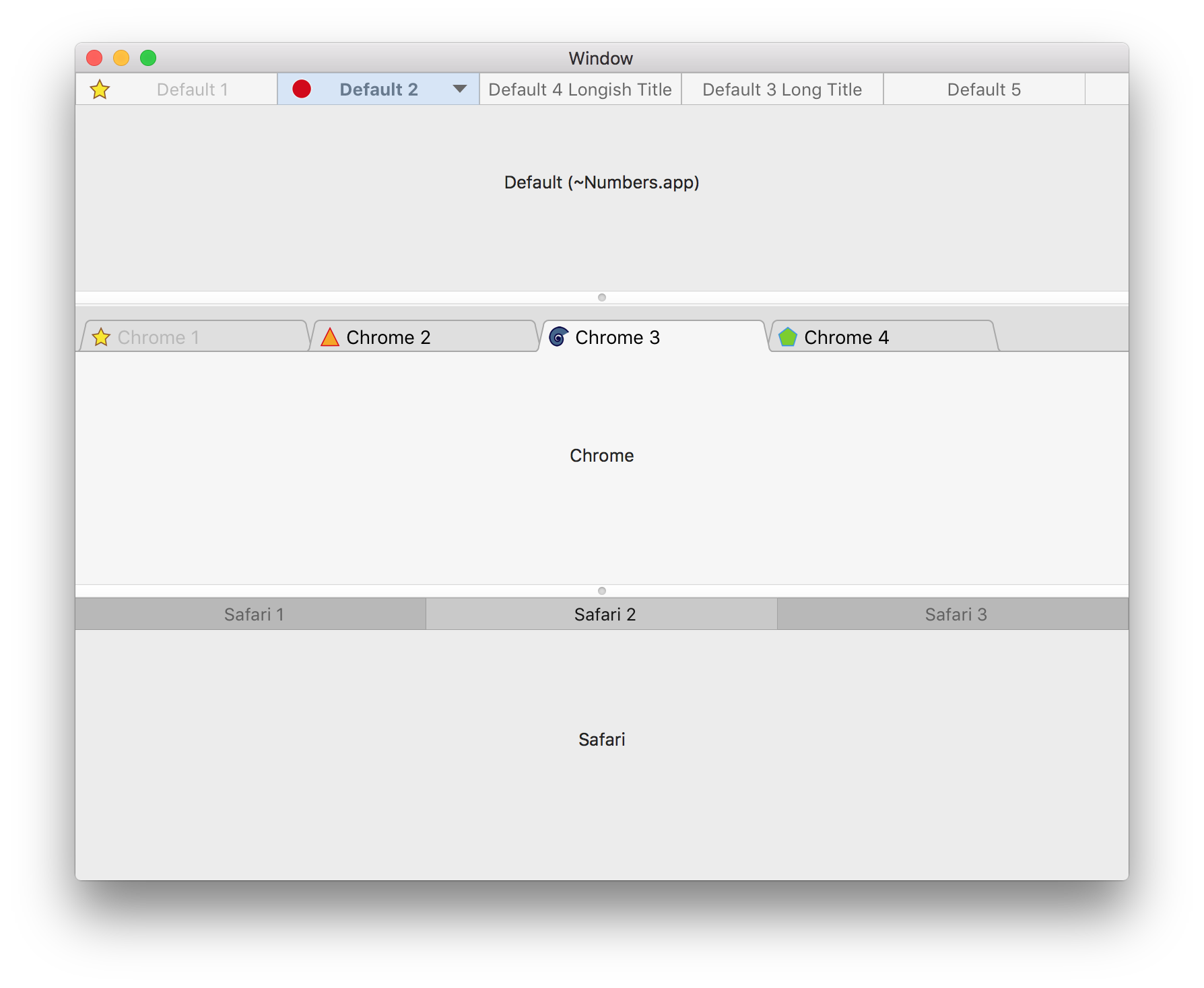 KPCTabsControl for macOS - Cocoa Controls