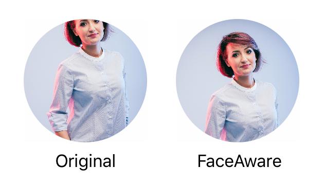 Face Aware screenshot
