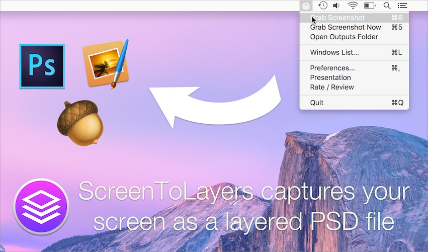 ScreenToLayers screenshot