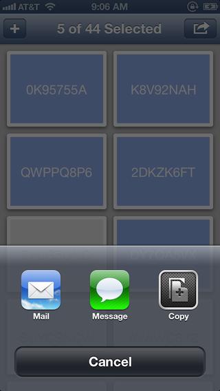 Dispenser screenshot