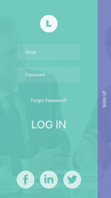 AMLoginSignup screenshot