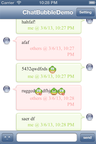 StyledChat screenshot