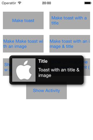 ASToast screenshot