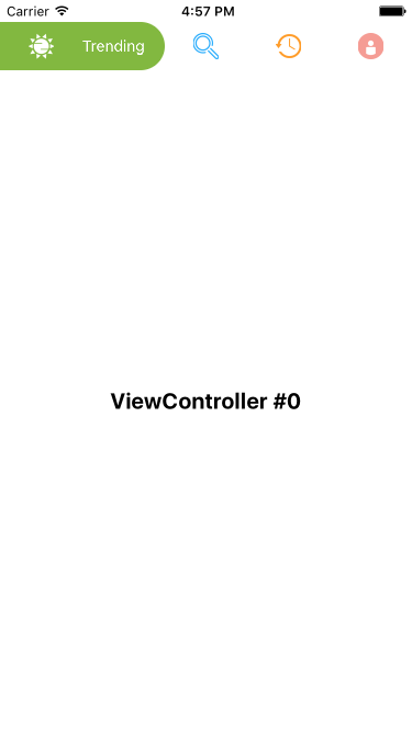 HQPagerViewController screenshot