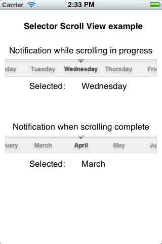 MVSelectorScrollView screenshot