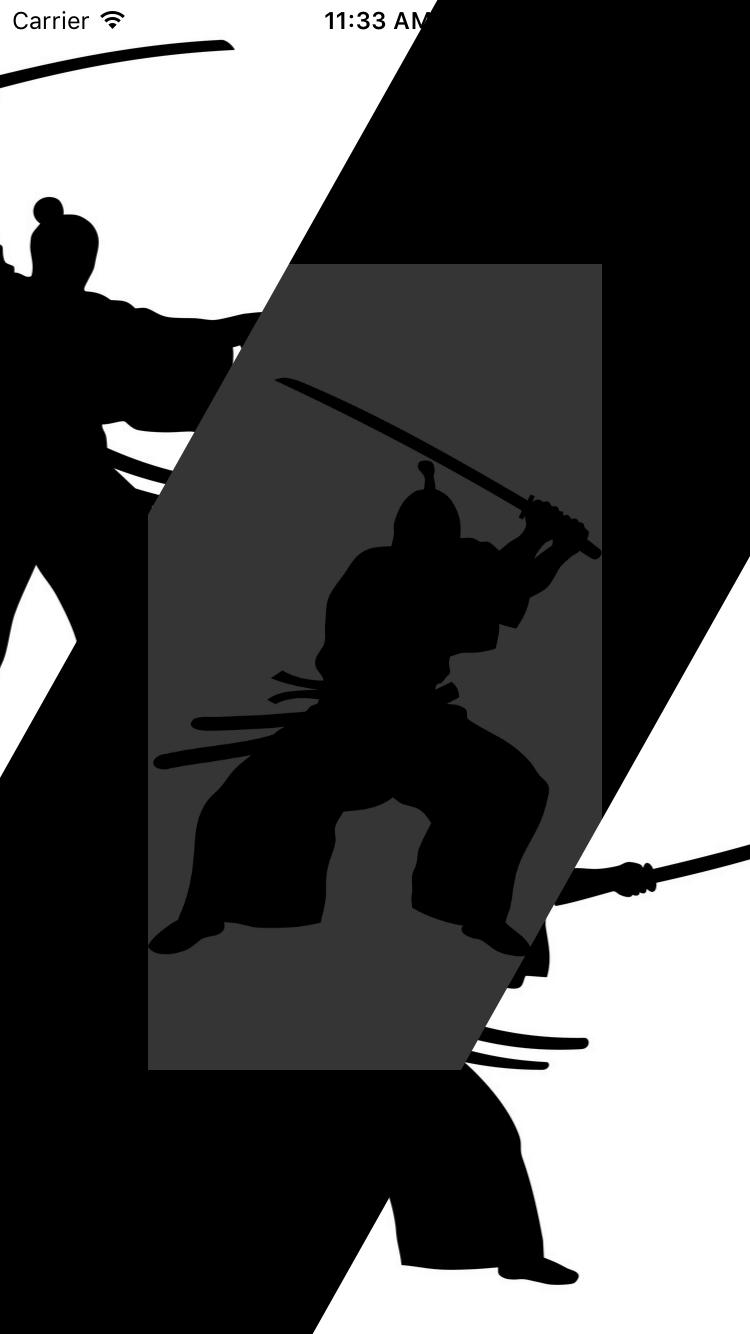 SamuraiTransition screenshot