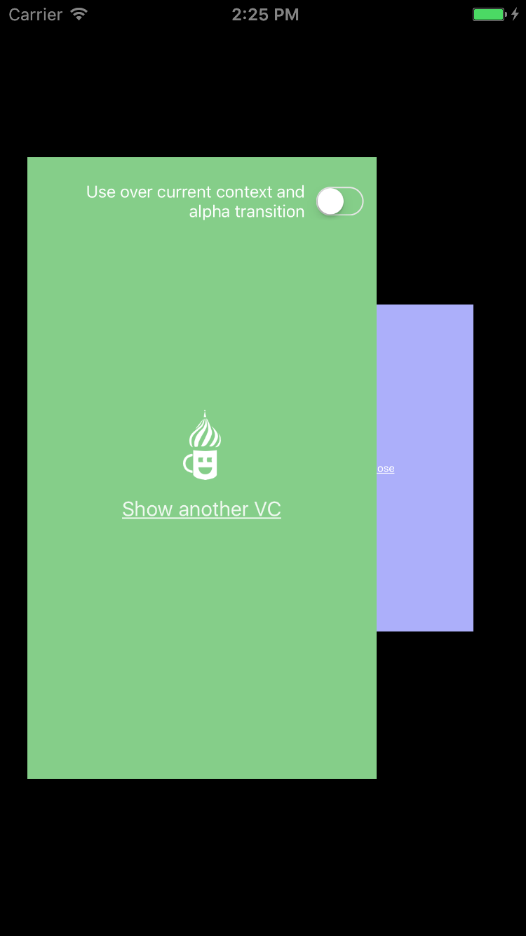 AZTransitions screenshot
