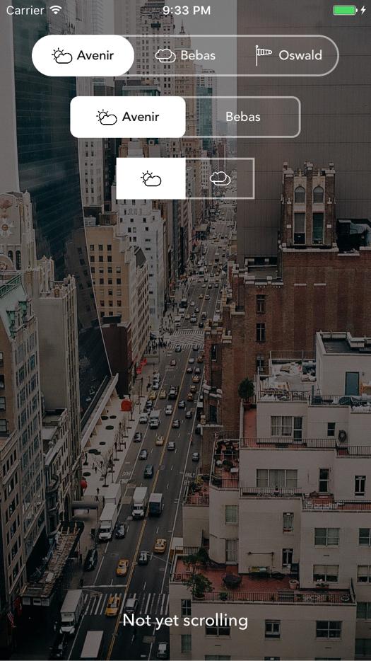 SPSegmentedControl screenshot