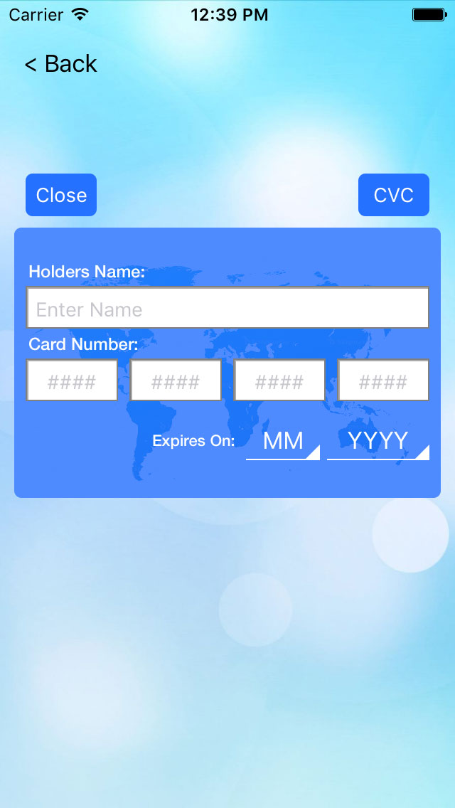MFCard screenshot