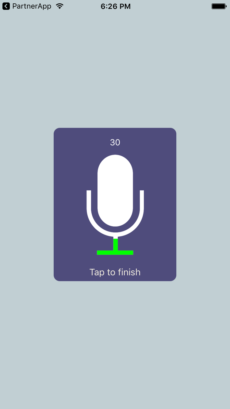 Voice Recorder for iOS - Cocoa Controls