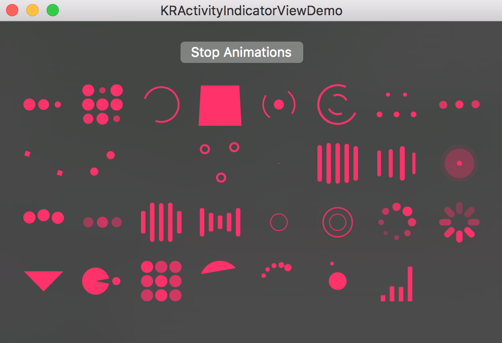 KRActivityIndicatorView screenshot