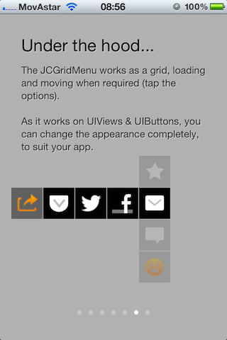 JCGridMenu screenshot
