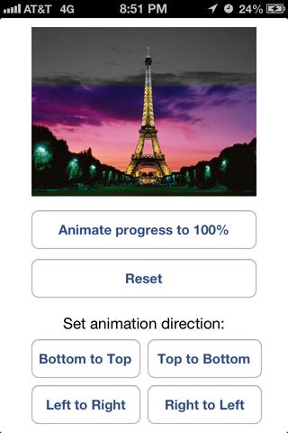 CSColorizedProgressView screenshot