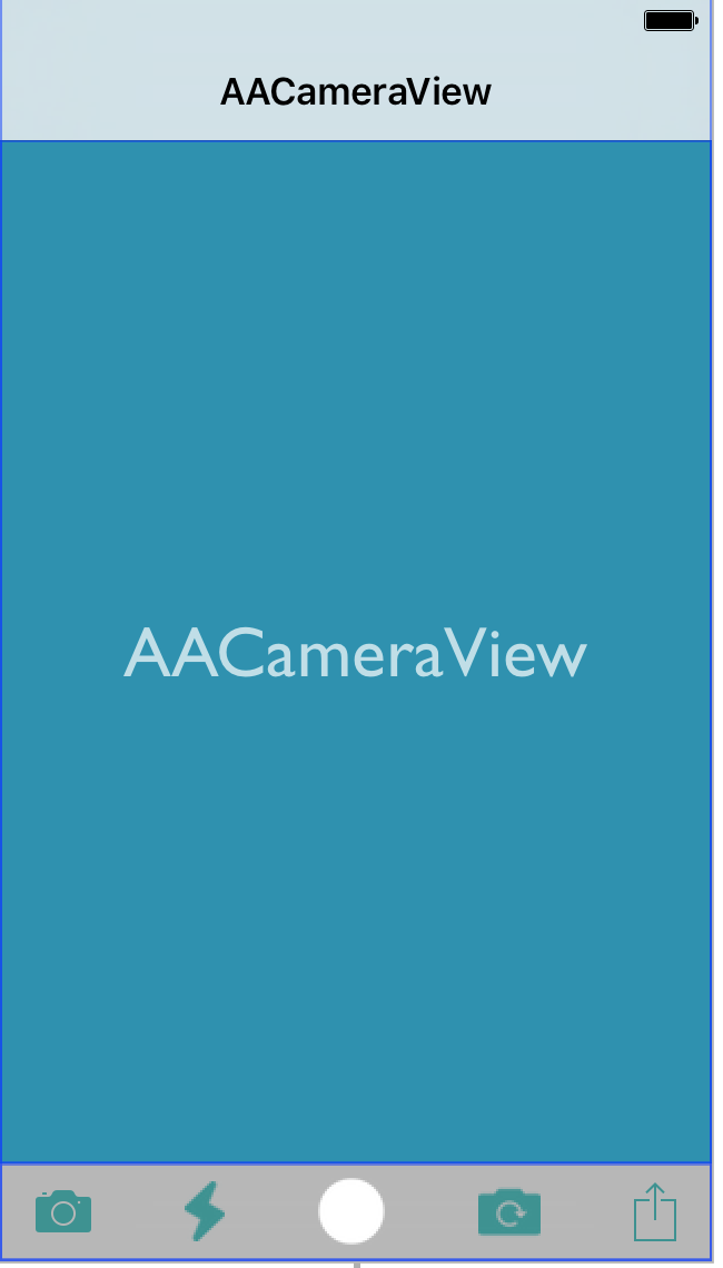 AACameraView screenshot