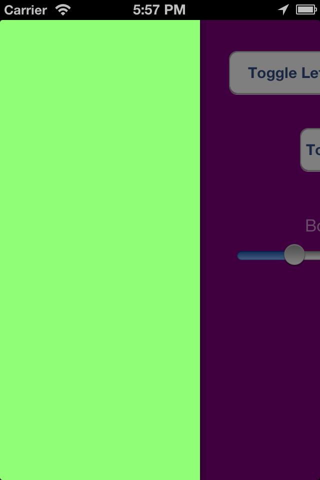 RNSwipeViewController screenshot