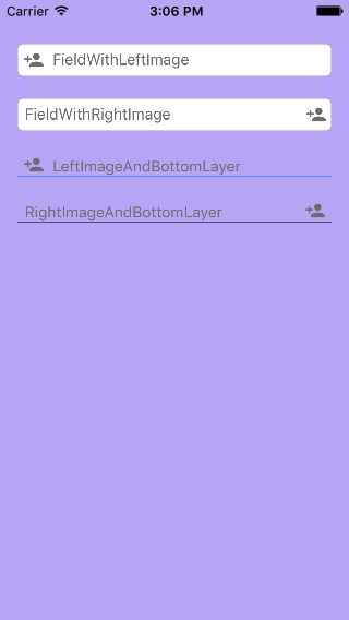 ImageTextField screenshot