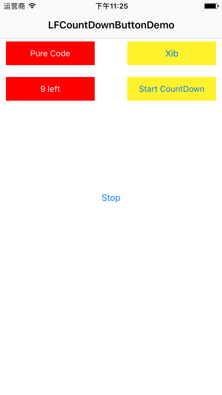 countDownButton screenshot