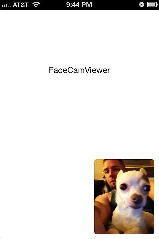 FaceCamViewer screenshot