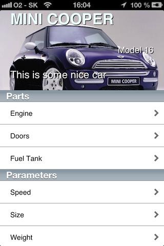 M6ParallaxController screenshot