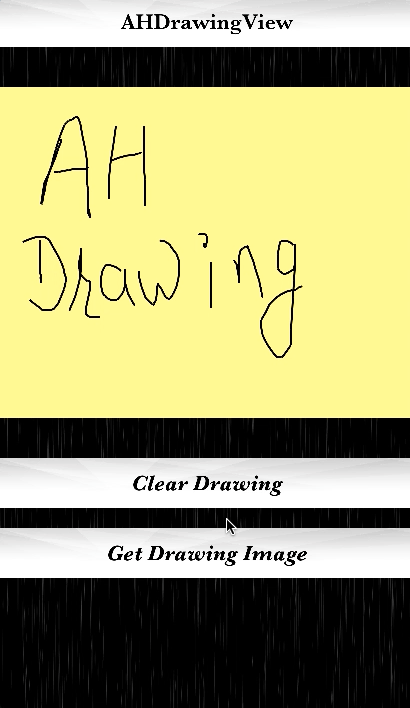 AHDrawingView screenshot