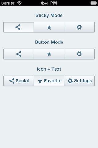 AKSegmentedControl screenshot