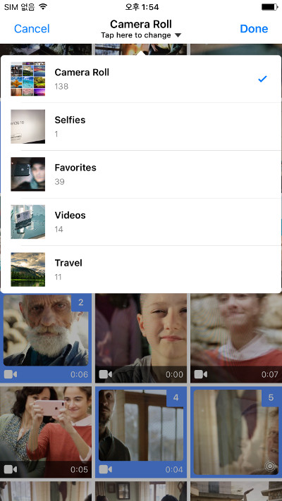 TLPhotoPicker screenshot
