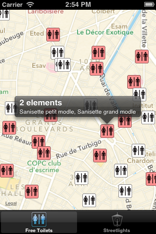 ADClusterMapView screenshot