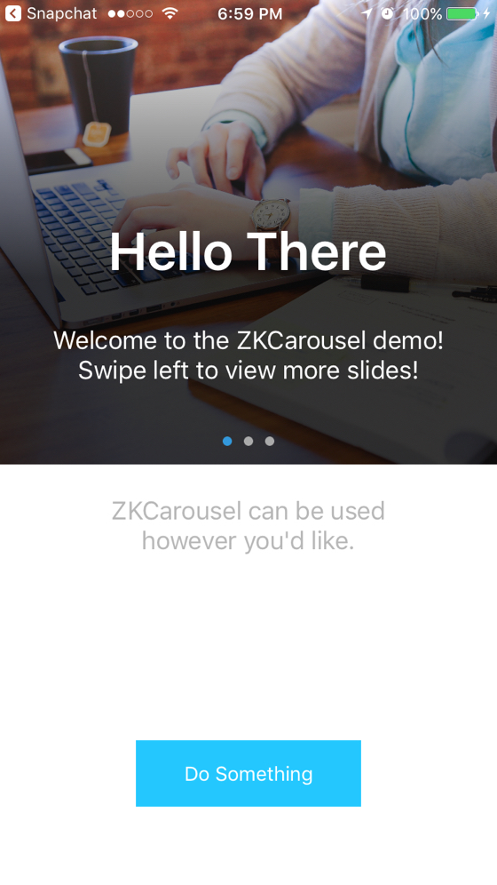 ZKCarousel screenshot