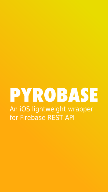 Pyrobase screenshot
