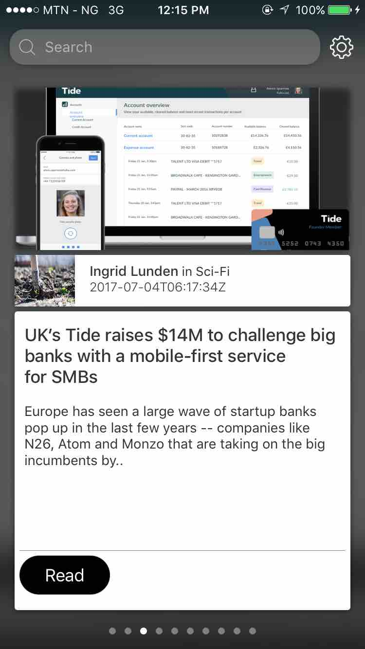 FancyNews screenshot