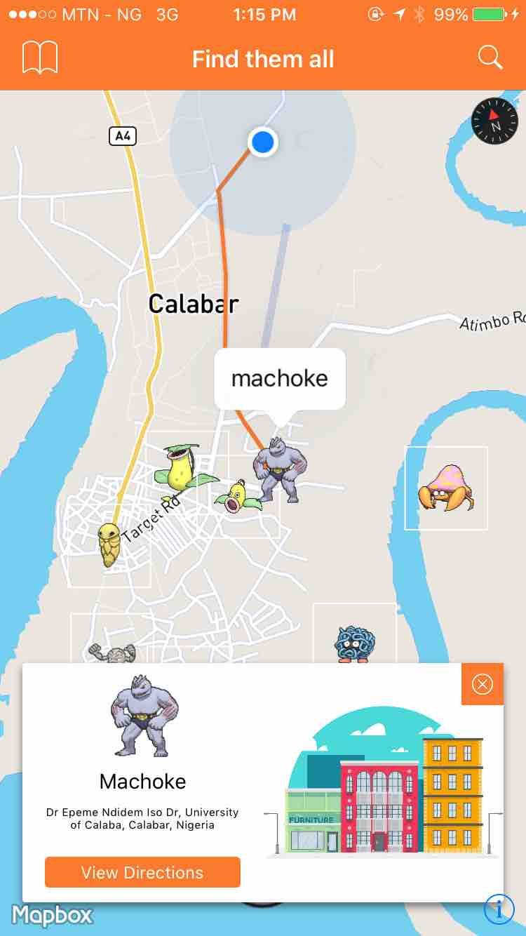 PokemonRadar screenshot