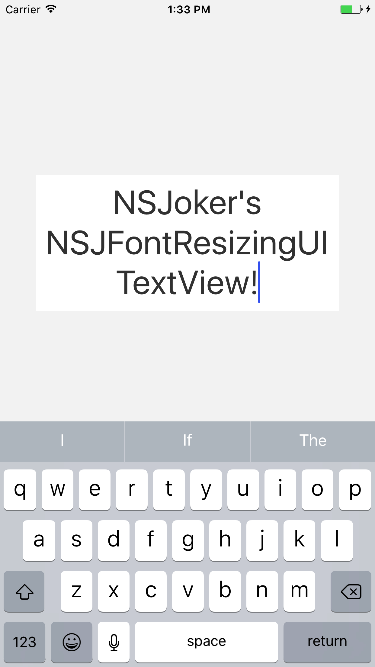 NSJFontResizingUITextView screenshot