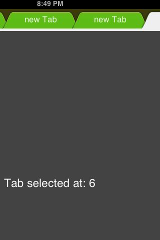 BrowserTabView screenshot