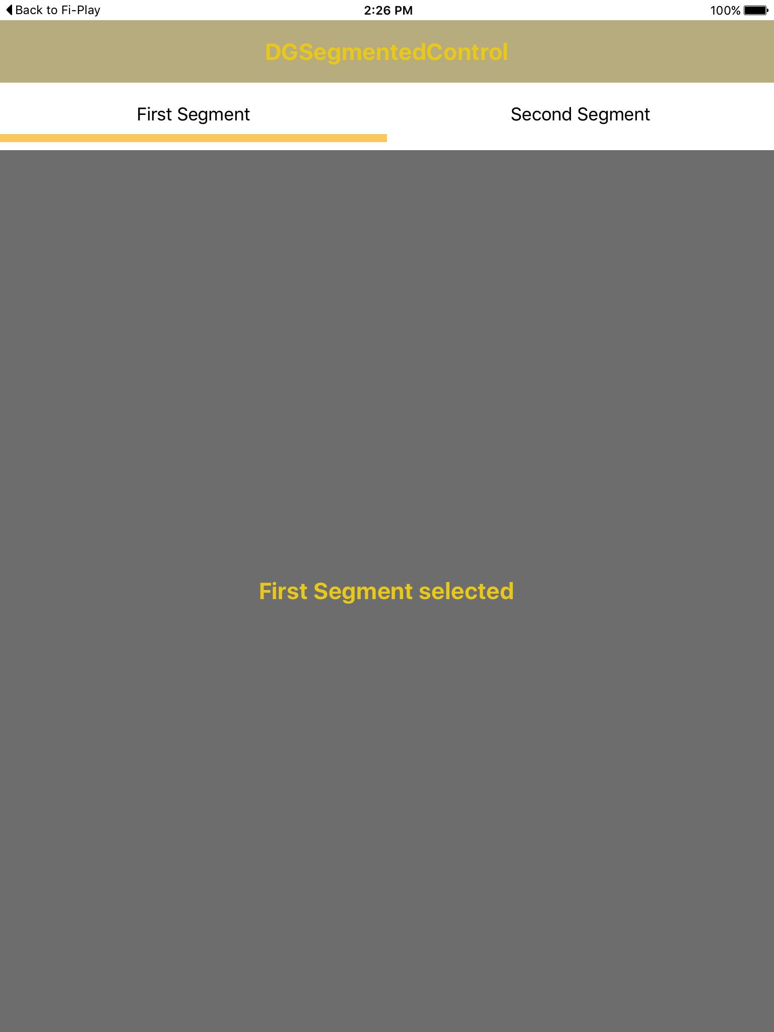 DGSegmentedControl screenshot