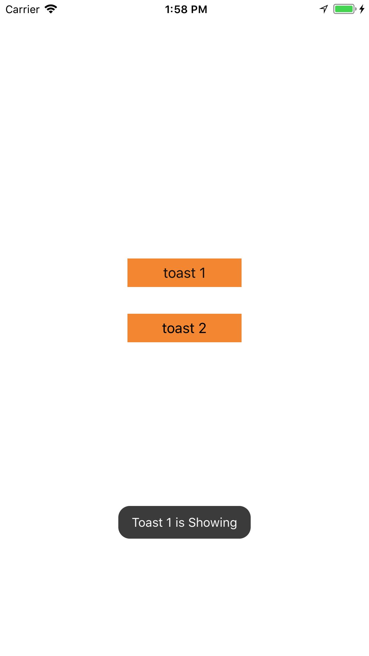 JYToast screenshot