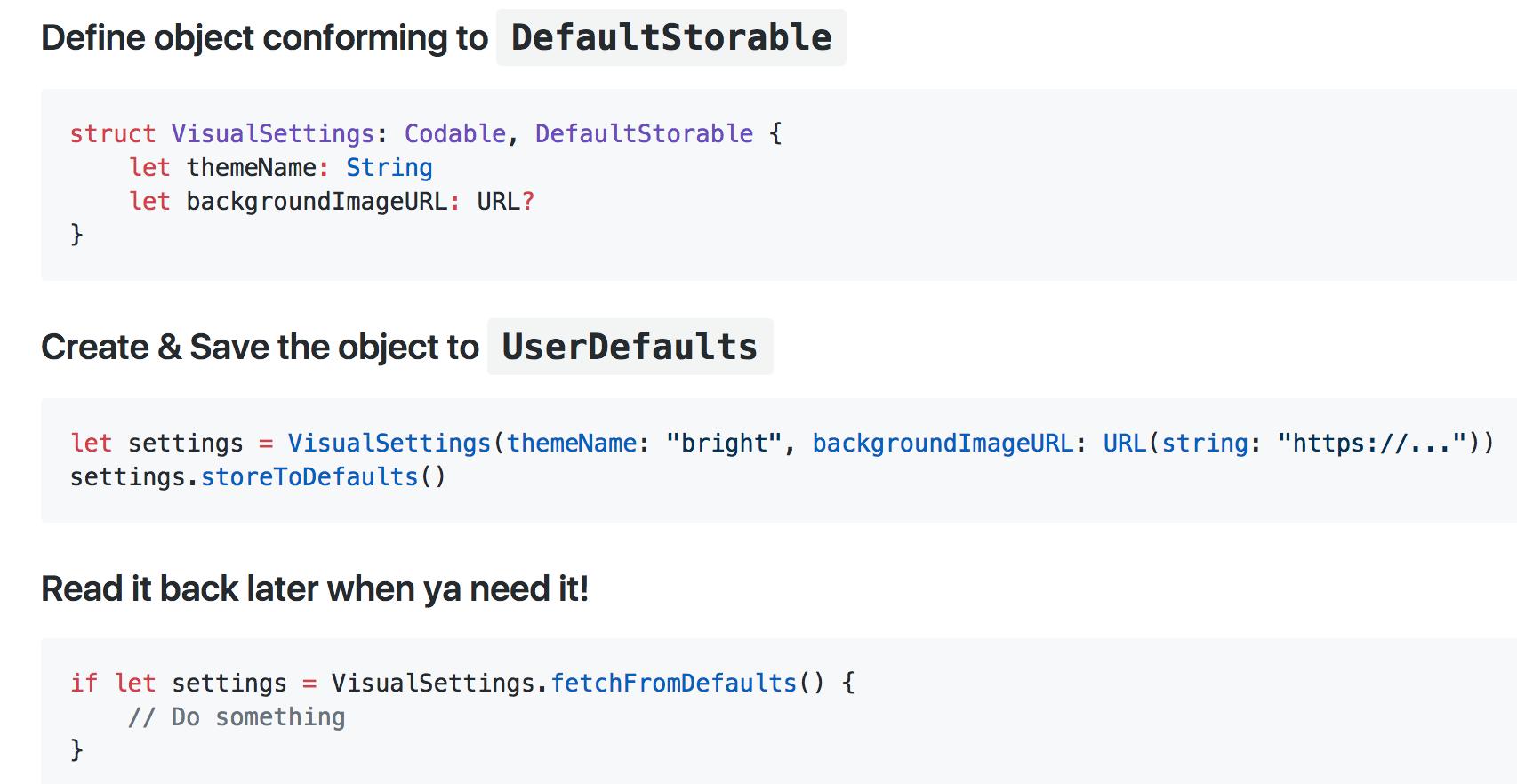 Default screenshot