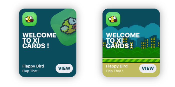 Cards screenshot
