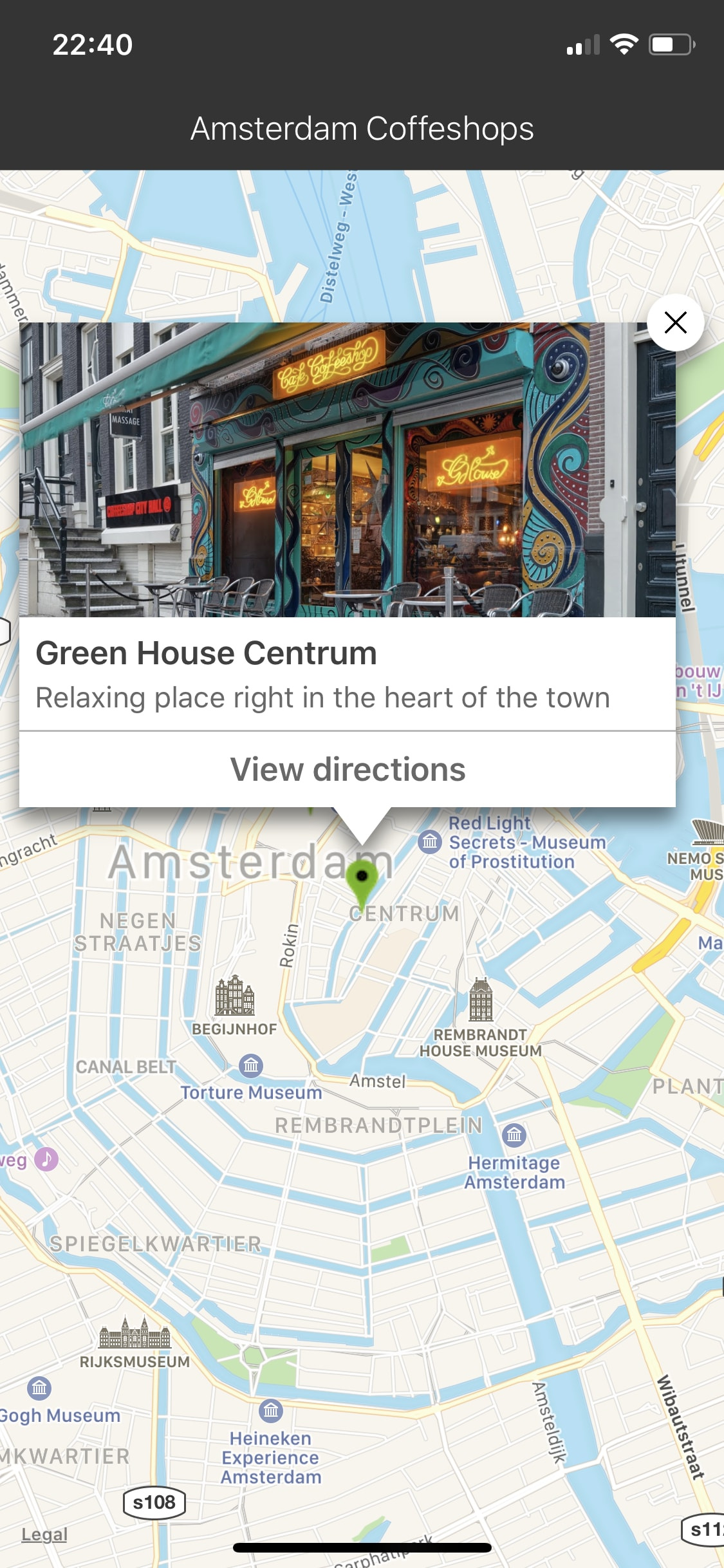 SRAttractionsMap screenshot