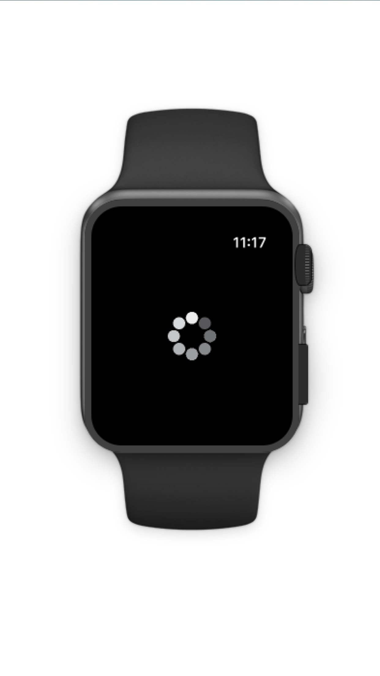 Apple Watch loader screenshot