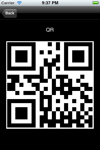 QR Code Encoder screenshot