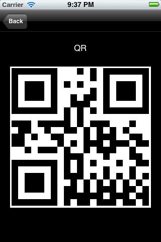 QR Code Encoder screenshot