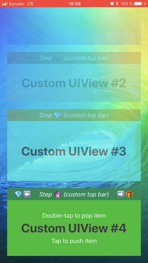 StackFlowView screenshot