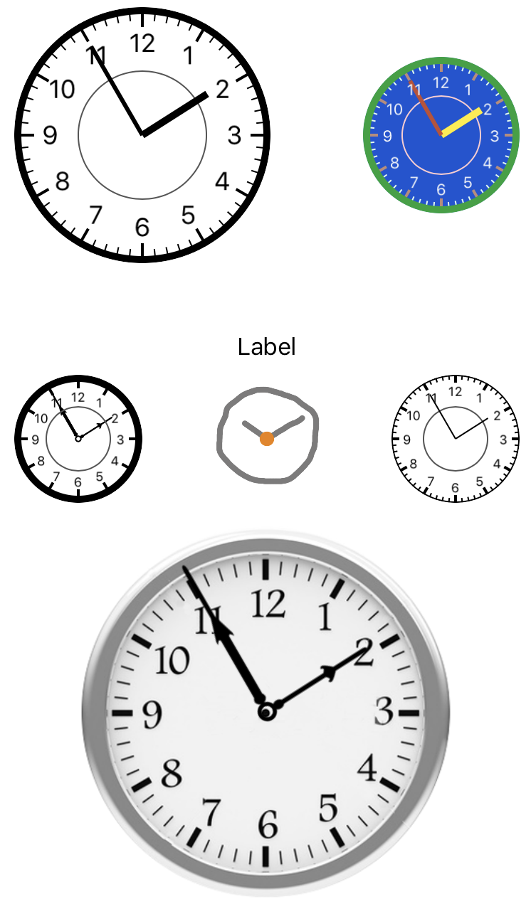 AMClockView screenshot