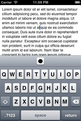 UDBarTrackballItem screenshot