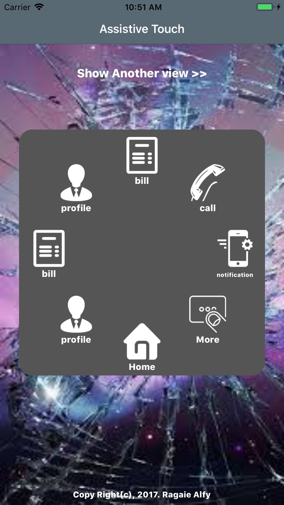 AssistiveTouch screenshot