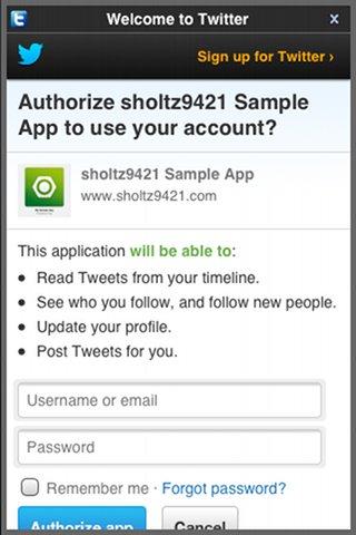 SimplySocial screenshot