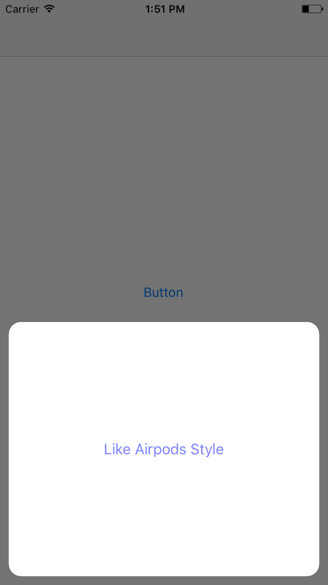 AppBottomActionSheet screenshot