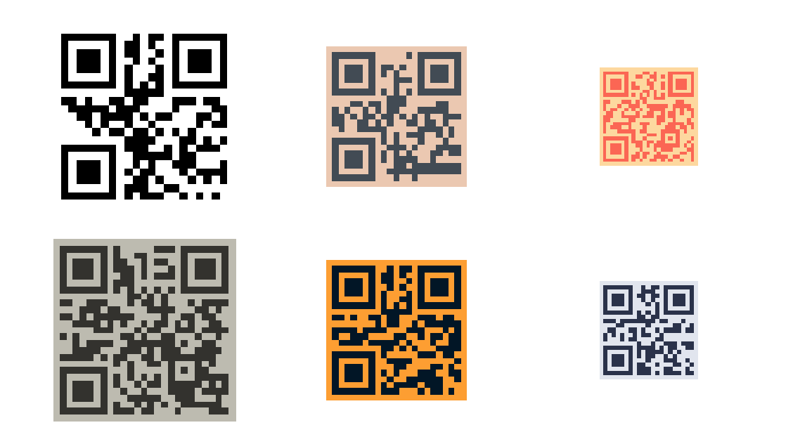 QRCode screenshot